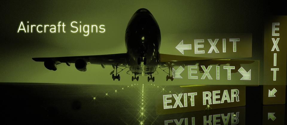 Vliegtuig noodverlichting