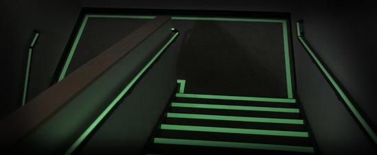Anti-slip tape trappenhuis