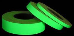 im Dunkeln leuchten Band Foto lumineszierend