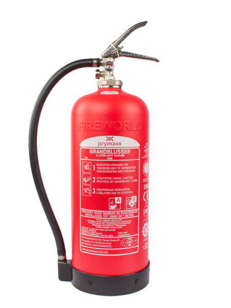 Fire extinguisher, 10 year warranty, easy inspection, maintenance free, light weight
