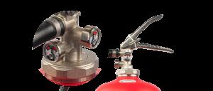 Foam extinguisher without maintenance