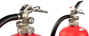 Brandblusser zonder onderhoud