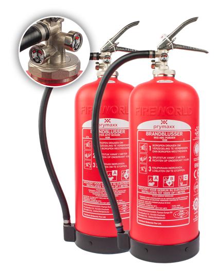 Brandblussers zonder onderhoud