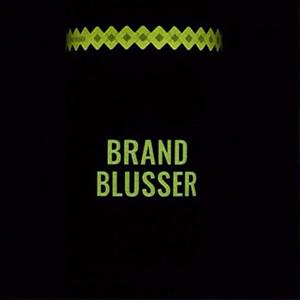 Brand blusser Glow in the dark