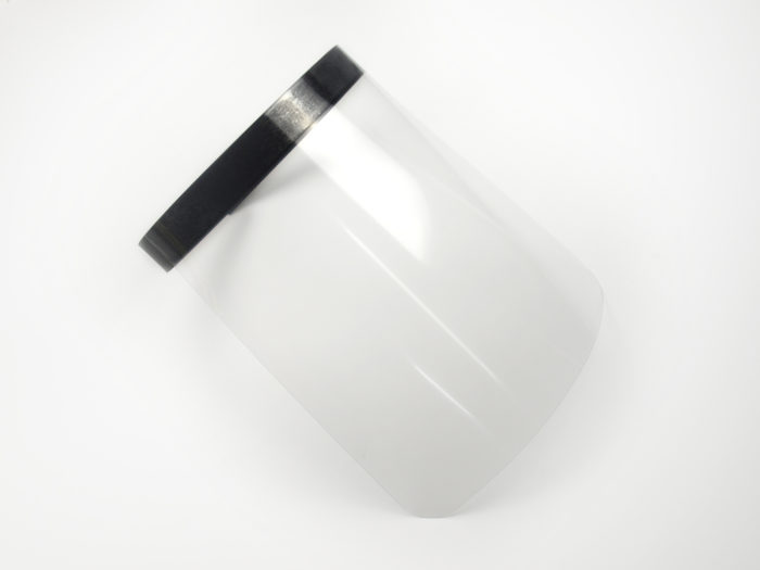 Beschermend gezichtsscherm Covid 19 coronabestrijding PBM