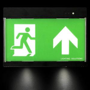Elektrische Fluchtwegbeschilderung mit Notbeleuchtung