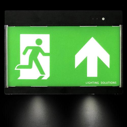 Elektrische vluchtwegaanduiding met noodverlichting