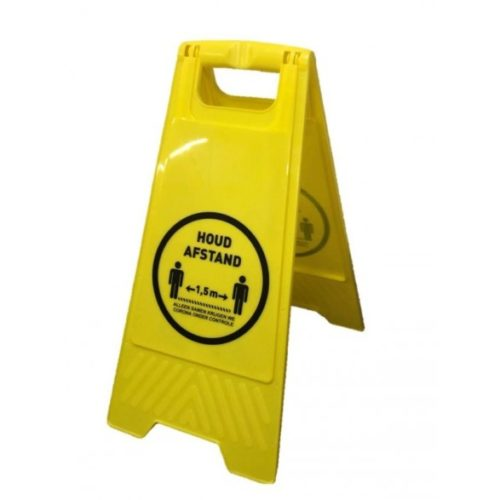 a_bordje_houd_afstand-corona-sticker-covid-19-waarschuwingsbord