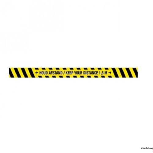 houd_afstand_-_keep_your_distance_strook_-Corona-sticker-waarschuwingssticker
