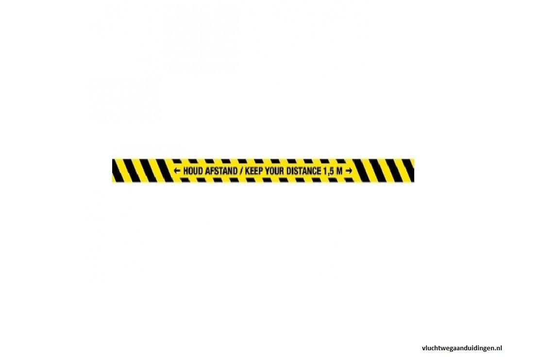 keep_distance _-_ keep_your_distance_strip_-Corona-Aufkleber-Warnaufkleber