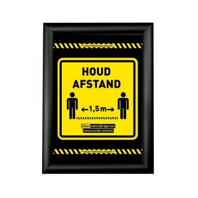 ideal for alerting your customers and / or staff to the corona measures. Click list with corona warning