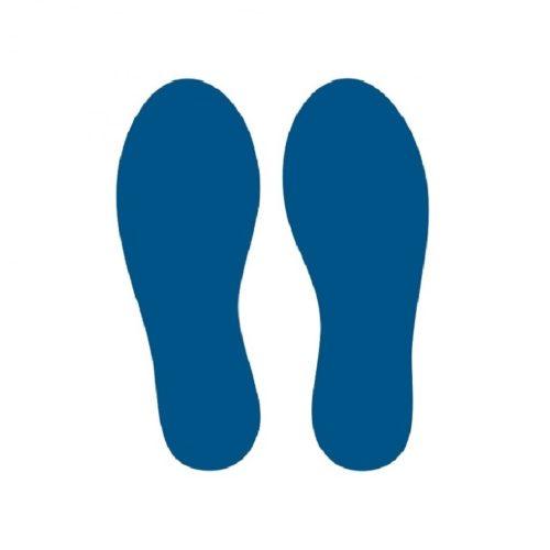 Footsteps-blue-sticker-corona-covid-19-lighting-solutions-bv