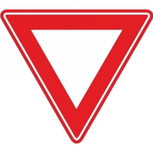 Verkehrszeichen RVV B06 - Vorfahrtskreuzung - nachgeben