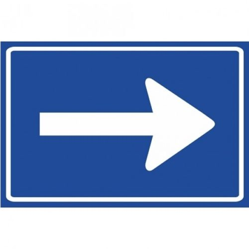 C04 One-way street left / right
