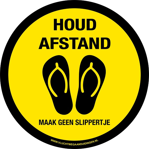 houd-afstand-slippers-strand-sportscholen-COVID-19-CORONA-Lighting-solutions-b.v.