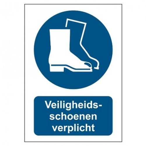Safety shoes compulsory
