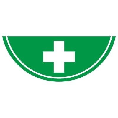 Photoluminescent First Aid Icon