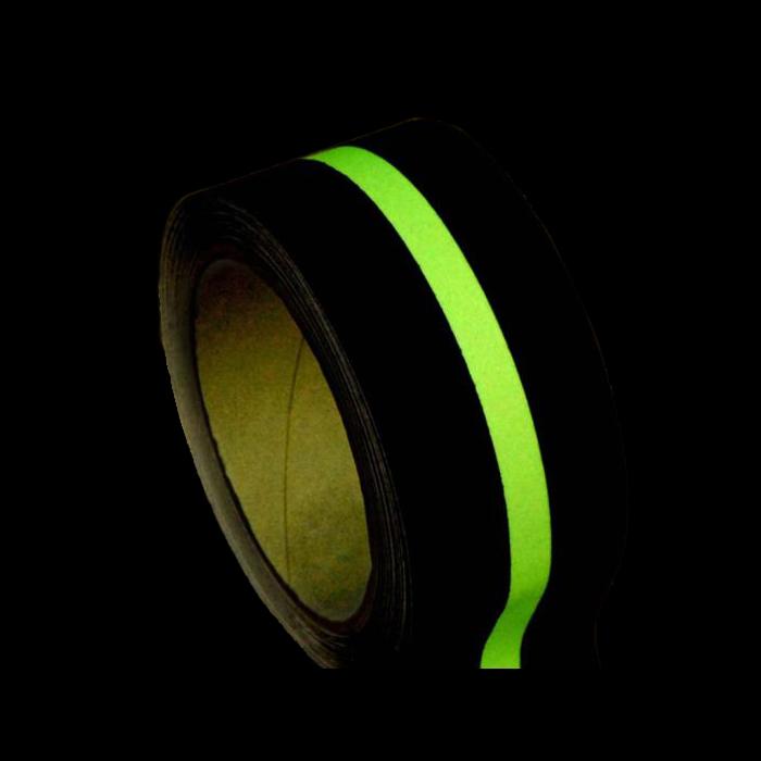 Photolumineszenz-Anti-Rutsch-Klebeband-Beleuchtung-Bodenmarkierung-Kontur-Markierung-Glühen-im-Dunkel-Fluchtweg-Anzeigen-Nachglühen-Piktogramme