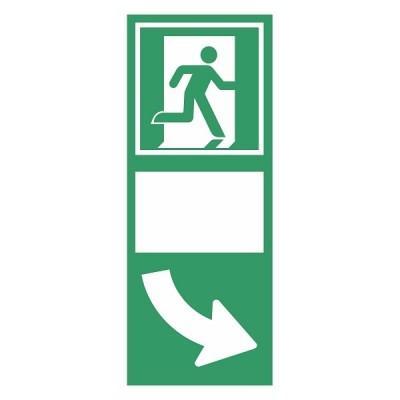 Photolumineszenz-Tür-Markierung-Beleuchtung-Boden-Markierung-Kontur-Markierung-Glow-in-the-Dark-Fluchtweg-Anzeigen-Nachleucht-Piktogramme