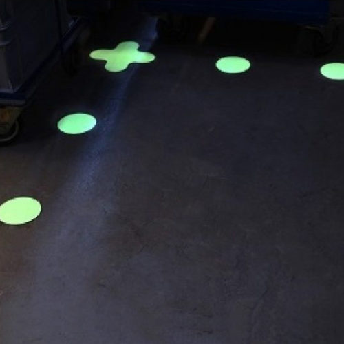 Glow-in-the-dark-dots-lighting-solutions-afterglowing-pictograms-photoluminescent-products