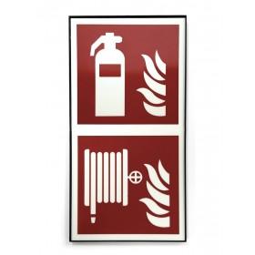 F001 F002 Feuerlöschersymbol
