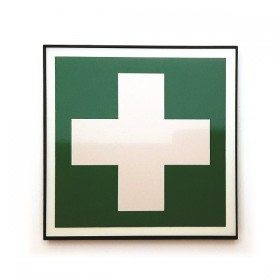 First aid sign design