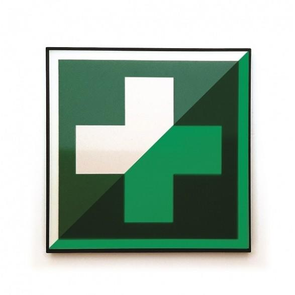 First Aid Board glow in the dark