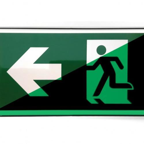Escape route-Sign-Links-Design